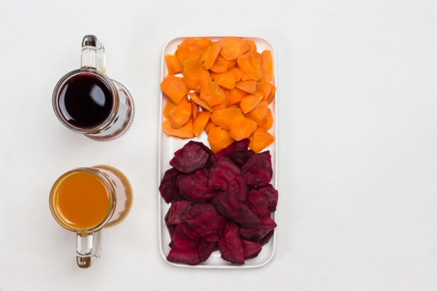 Carrot and Beetroot Juice